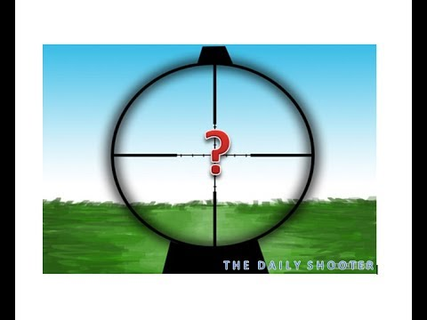 The basics!  Sighting in your gun  (scopes & sights) adjustments