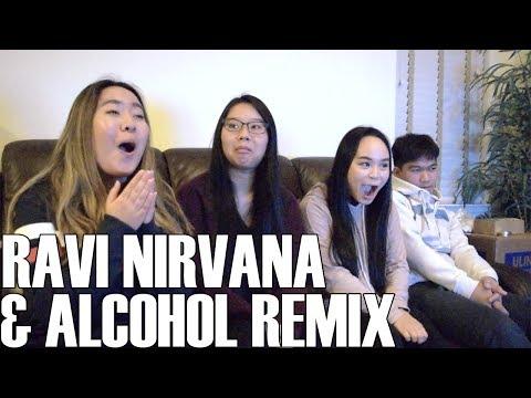 Ravi (라비)- Nirvana + Alcohol Remix (Reaction Video)