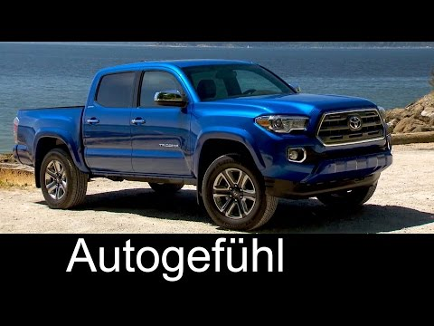 2016 Toyota Tacoma 4x4 Offroad Driving Exterior/Interior Preview Double Cab versions
