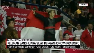 Pesan Hebat! Presiden Jokowi - Prabowo Berpelukan, Hanif: Saya Mau Silaturahmi Erat untuk Indonesia