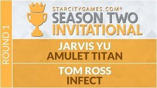SCGINVI Round 1 Jarvis Yu vs Tom Ross Modern
