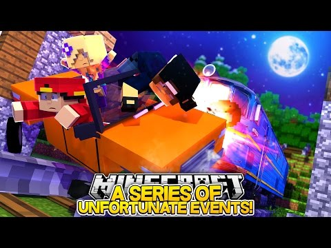 Minecraft Adventure - ROPO, JACK & BABY ANGEL GET HIT BY A TRAIN!!!