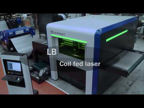 Coil fed laser cutting system: LB of DANOBAT