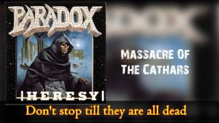 Watch Paradox Massacre Of The Cathars video