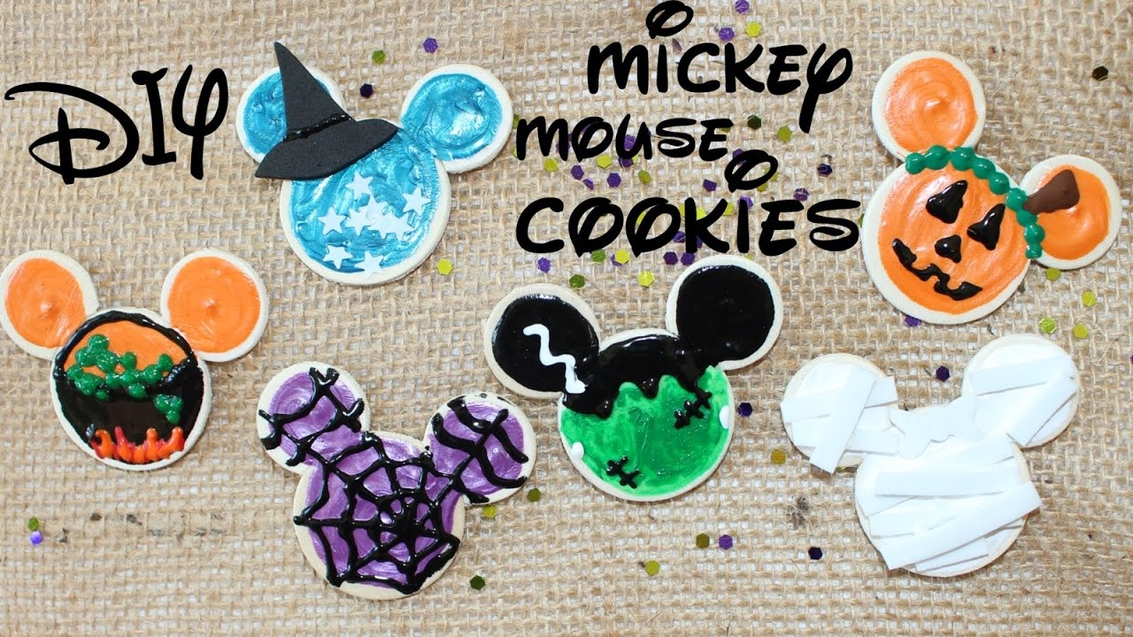 Diy American Girl Doll Mickey Mouse Cookies