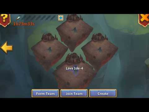 Lava 4 (setup 2 GS) - Castle Clash
