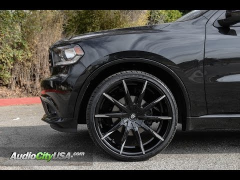 Dodge Durango Rt 2016 On 24 Lexani Wheels