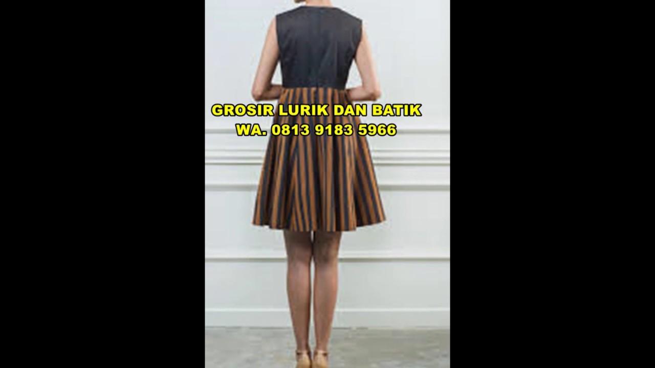 30+ Model Baju Batik Lurik Wanita - Fashion Modern dan ...
