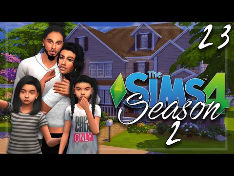 Let's Play: The Sims 4 - Season 2 - Part 23 | Daddy Girls