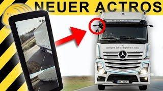 NEUER ACTROS  2019 - Testfahrt ohne Außenspiegel? Alle Details!