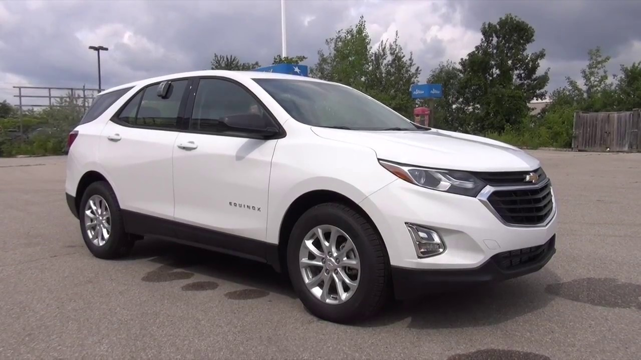 2018 Chevrolet Equinox Fwd Ls Summit White
