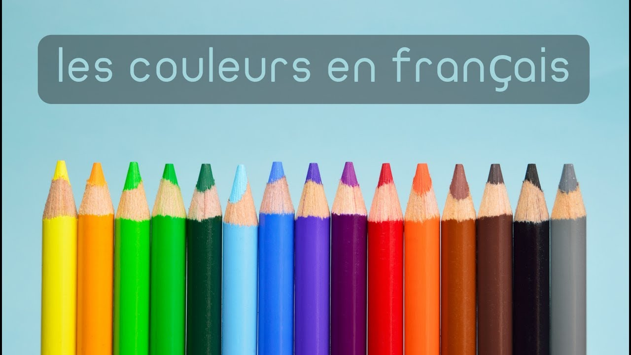 apprendre les couleurs en fran ais learn learn colors in french youtube. Black Bedroom Furniture Sets. Home Design Ideas