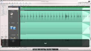 Logic Pro 9. Продвинутое редактирование Audio. Урок 8 [Logic Pro Help]