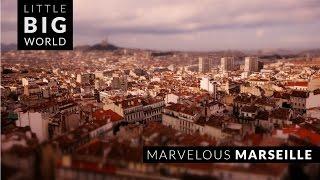 Marvelous Marseille (4k - Time Lapse - Tilt Shift)