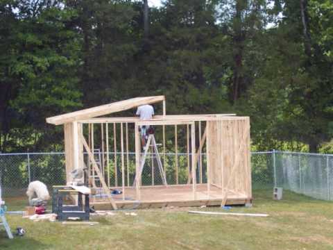 Building A Storage Shed Youtube - Building-storage-sheds