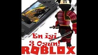 Roblox En 'yi 3 Oyun! / ilk Video / Pf , Jl , Ar