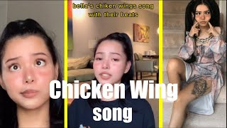 bella poarch chicken wings song(with beats and original)(tiktok compilation)