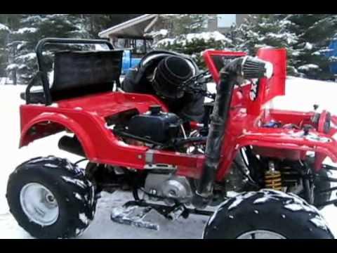 Motorized Power Wheels - YouTube