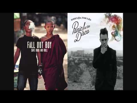 Fall Out Boy - This Ain't A Scene & Panic! At The Disco - Vegas Lights MASHUP