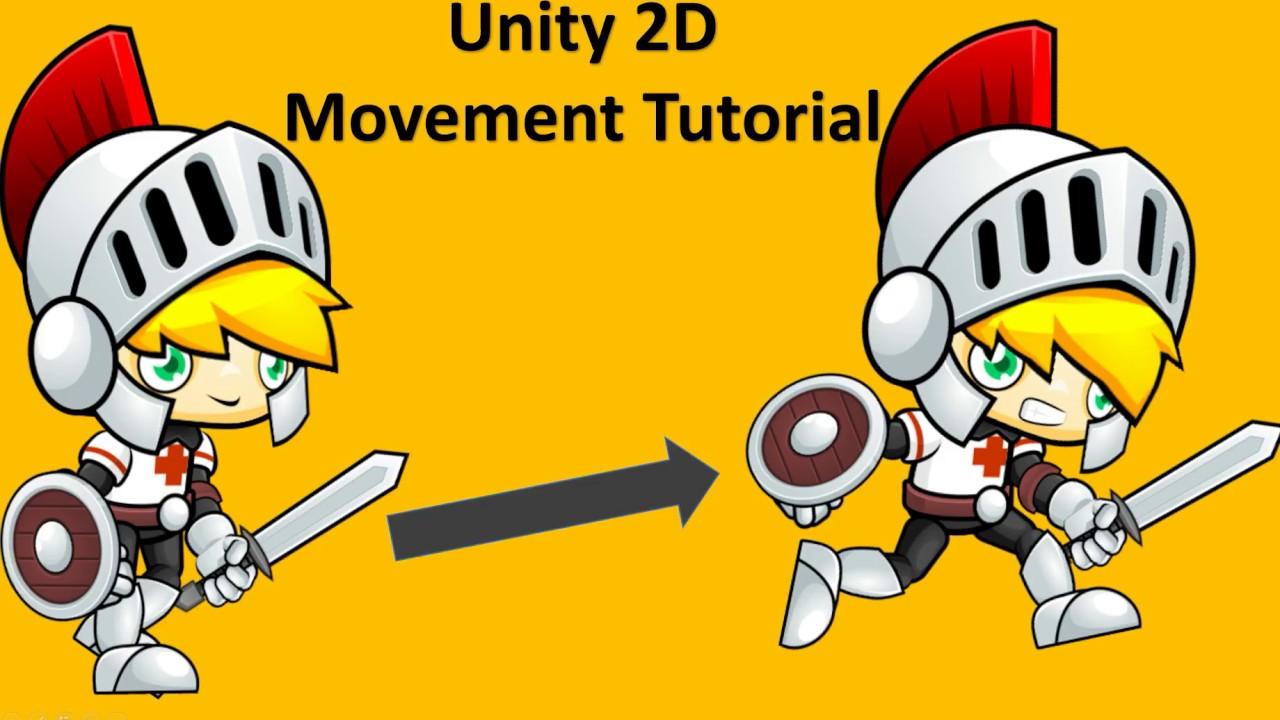 Unity 2d Movement Tutorial Script C Youtube