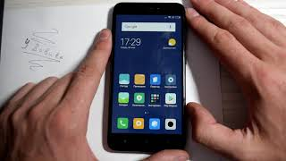 Как разблокировать гугл аккаунт Xiaomi Redmi 4x Android 7.1.2 март 2018, FRP
