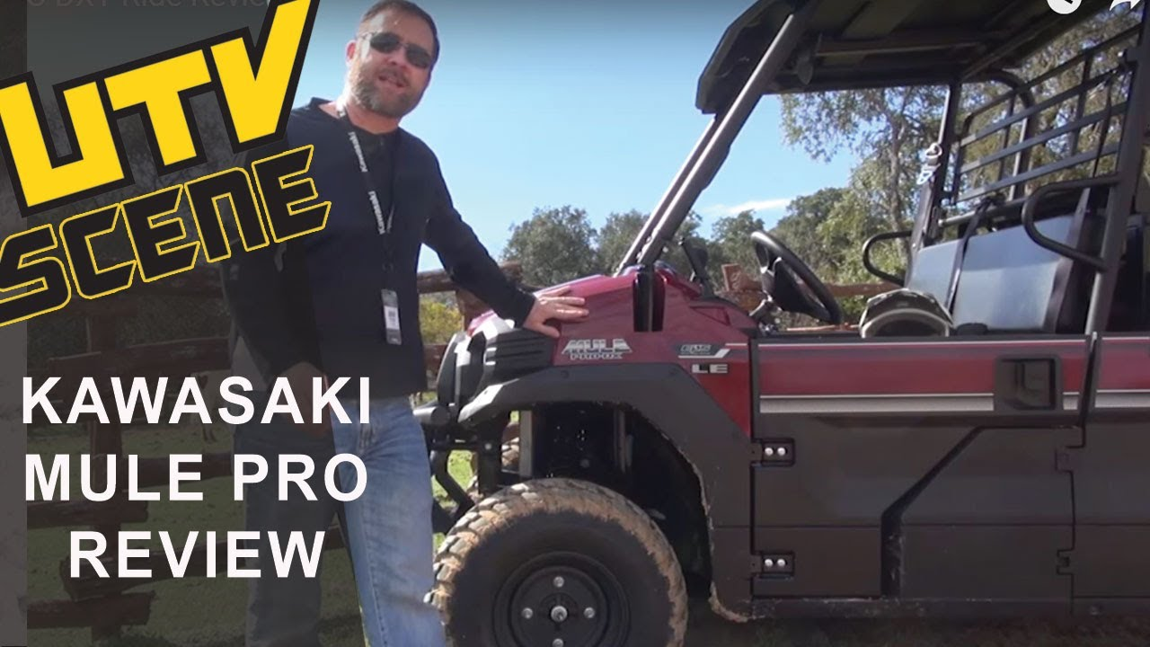 Kawasaki Mule PRO DXT Ride Review