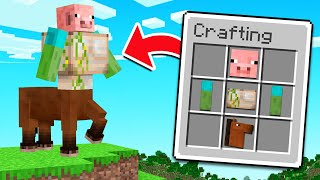 How To Make CURSED MOBS In MINECRAFT!