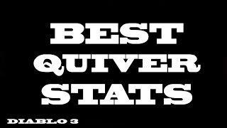 diablo3 best quiver stats w prides fall m6 demon hunter 2h crossbow