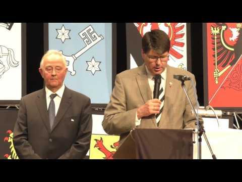 Verleihung des Goldenen Ehrenzeichens an Jürgen Zauner - Laudatio von LO-Sprecher Stephan Grigat