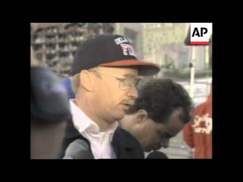 USA: OKLAHOMA CITY BOMBING: SEARCH FOR SURVIVORS CONTINUES