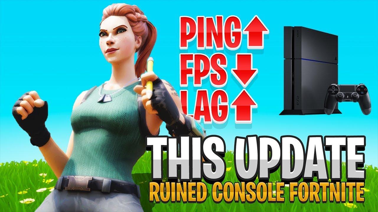 Donc, la console Fortnite est à nouveau cassée ... (Fortnite PS4 Xbox - Nouvelle mise à jour) + vidéo