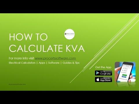 How to Calculate kVA | Electrical Formulas