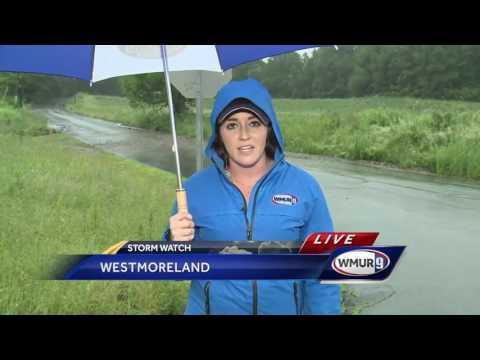 Floods damage Cheshire County roads