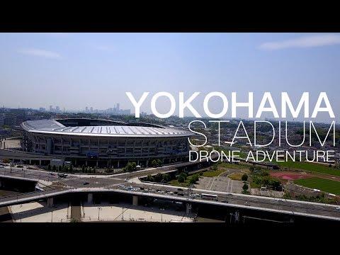 YOKOHAMA STADIUM FROM THE SKY!