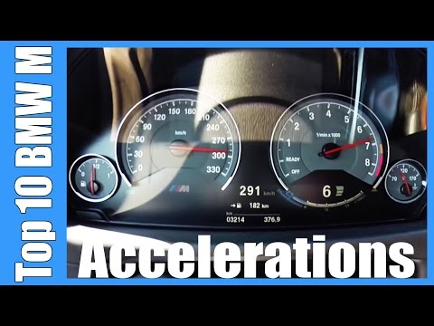 TOP 10 BMW M Acceleration & Top Speed | Z3M Z4M M3 M4 M5 M6 X5M X6M M235i