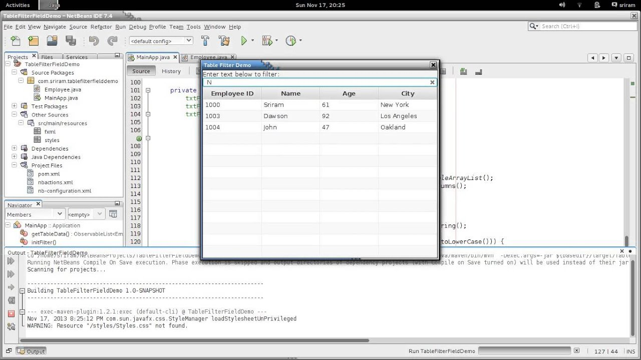 Filter for tableview in javafx youtube filter for tableview in javafx baditri Images