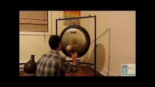"""Pasite 26"""" Symphonic Gong with M3 Gong Mallet - Artdrum"""