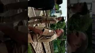 Live train accident
