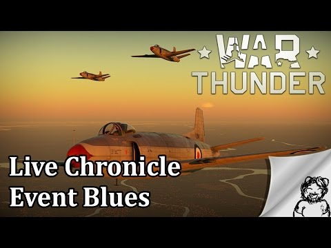 War Thunder - Live - Chronicle Event Blues