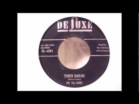 Val-Tones - Tender Darling - 1955 45-DeLuxe 6084..wmv