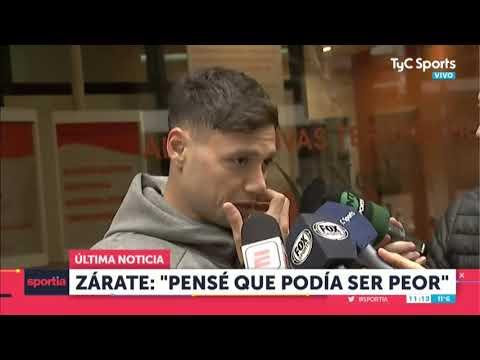"""Mauro Zárate: """"Pensé Que La Lesión Era Peor"""""""