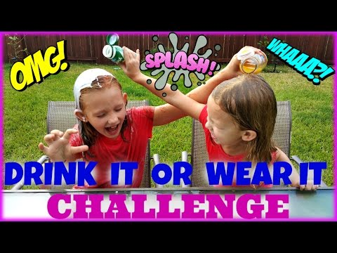 DRINK IT OR WEAR IT CHALLENGE - Magic Box Toys Collector