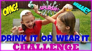 Drink It Or Wear It Challenge   Magic Box Toys Collector