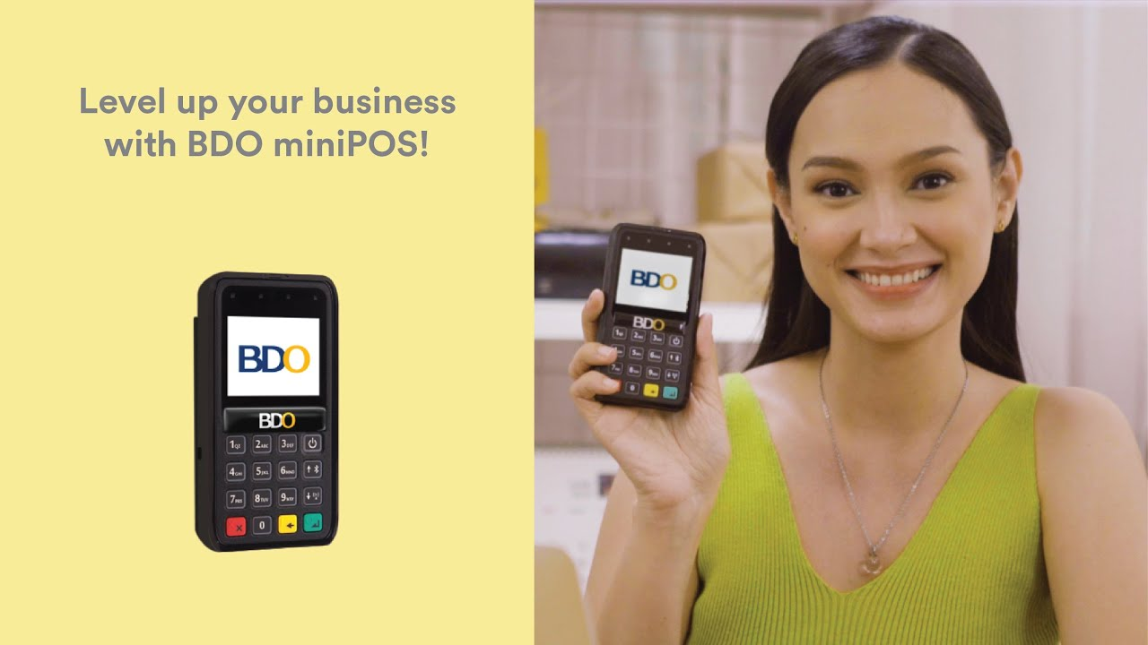 Learn the basics of accepting payments beyond cash with with BDO miniPOS
