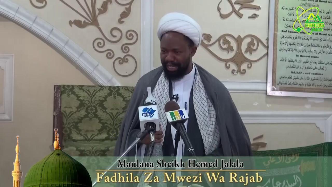 Download UTUKUFU NA FADHILA ZA MWEZI RAJAB - JE NINI UFANYE?   Sheikh Hemedi Jalala