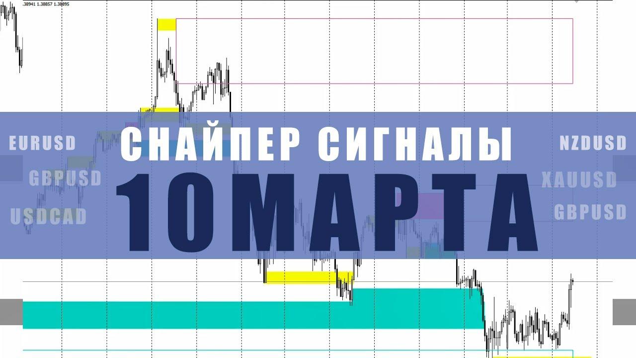 СИГНАЛЫ СНАЙПЕР НА 10 МАРТА | Трейдер Юрий Антонов