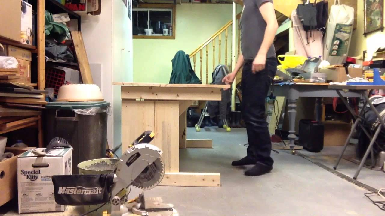 Diy Sit Stand Desk With Counterweight Youtube