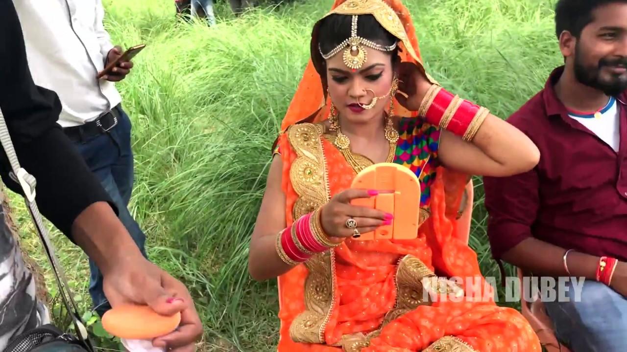 Download Niisha Dubey | Making of Devi Song - Jhula Jhuleli Bhawani Maiya | 2018 Part 2