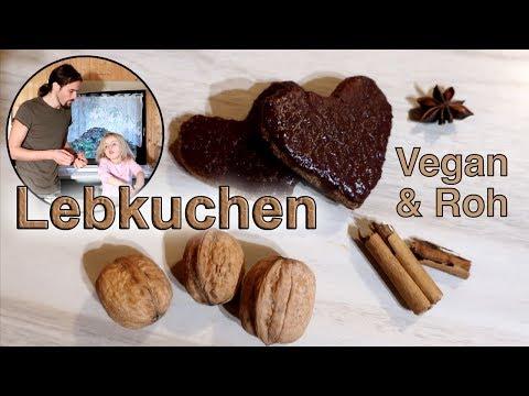 Vegane Rohkost: Glutenfreie Lebkuchen Plätzchen selber machen! ⭐️ Weihnachtsplätzchen mal anders!
