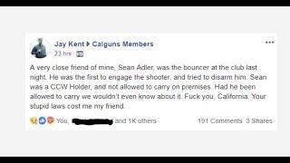 Gavin Newsom After SoCal Mass Shooting: Calif